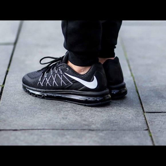 Euc 25 Nike Air Max Triple Black Sz 14